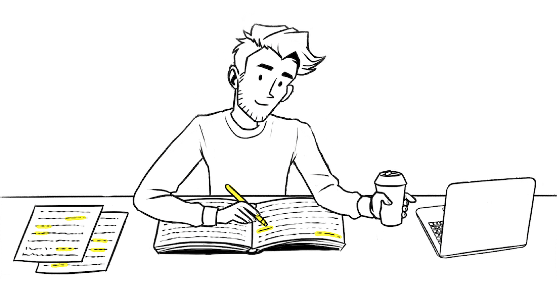 Student Studying Learn how to study