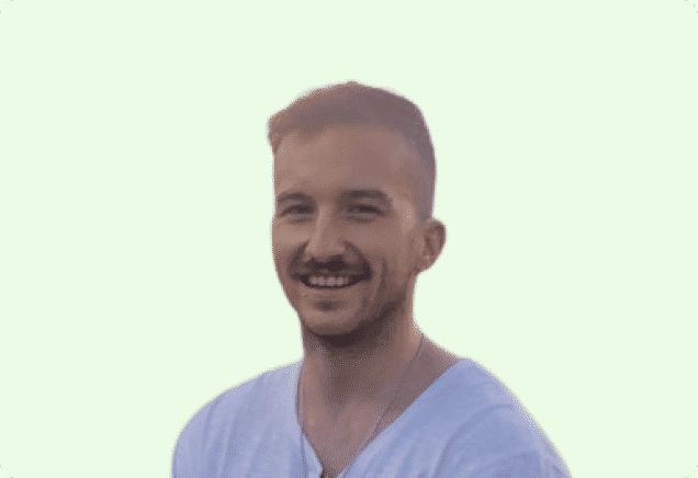 Branko Gvoka Fullstack Engineer @shovelapp