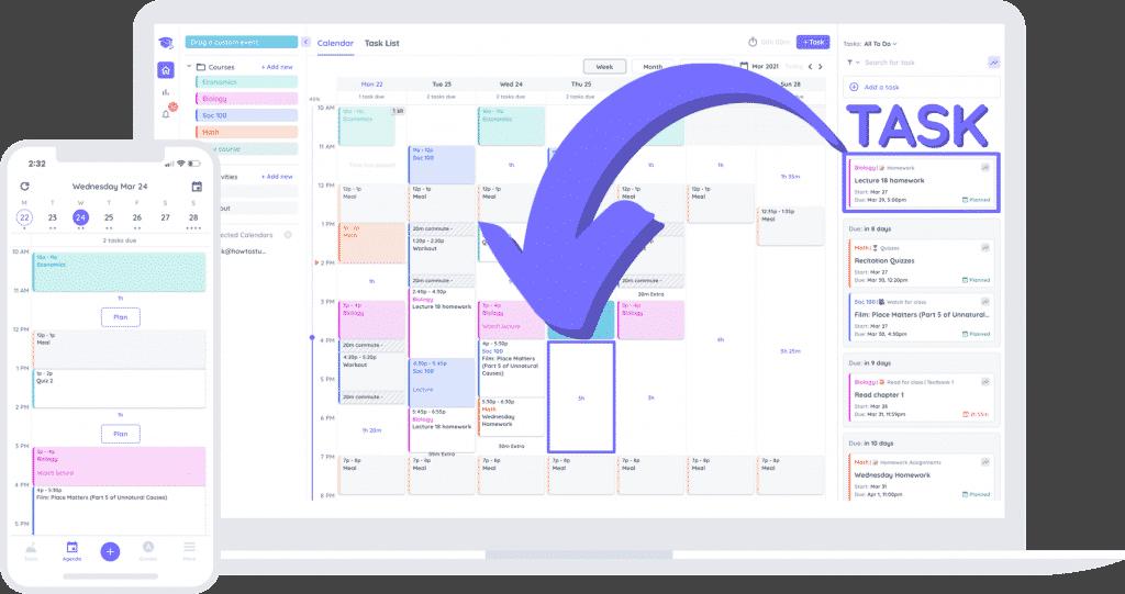 Timeboxing Study Planner - Shovel